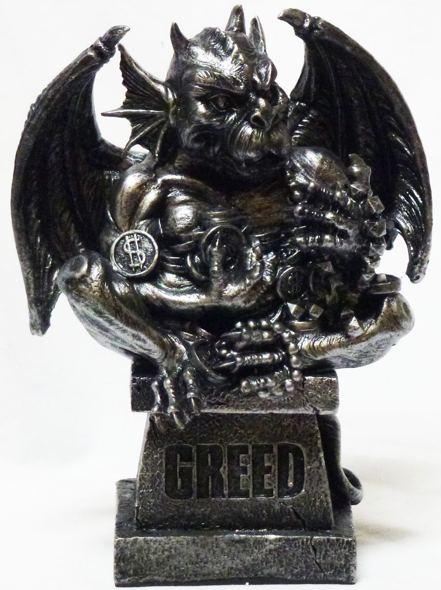 The Seven Deadly Sins 6 Inch Cold Cast Resin Gargoyle ... |Seven Deadly Sins Statues