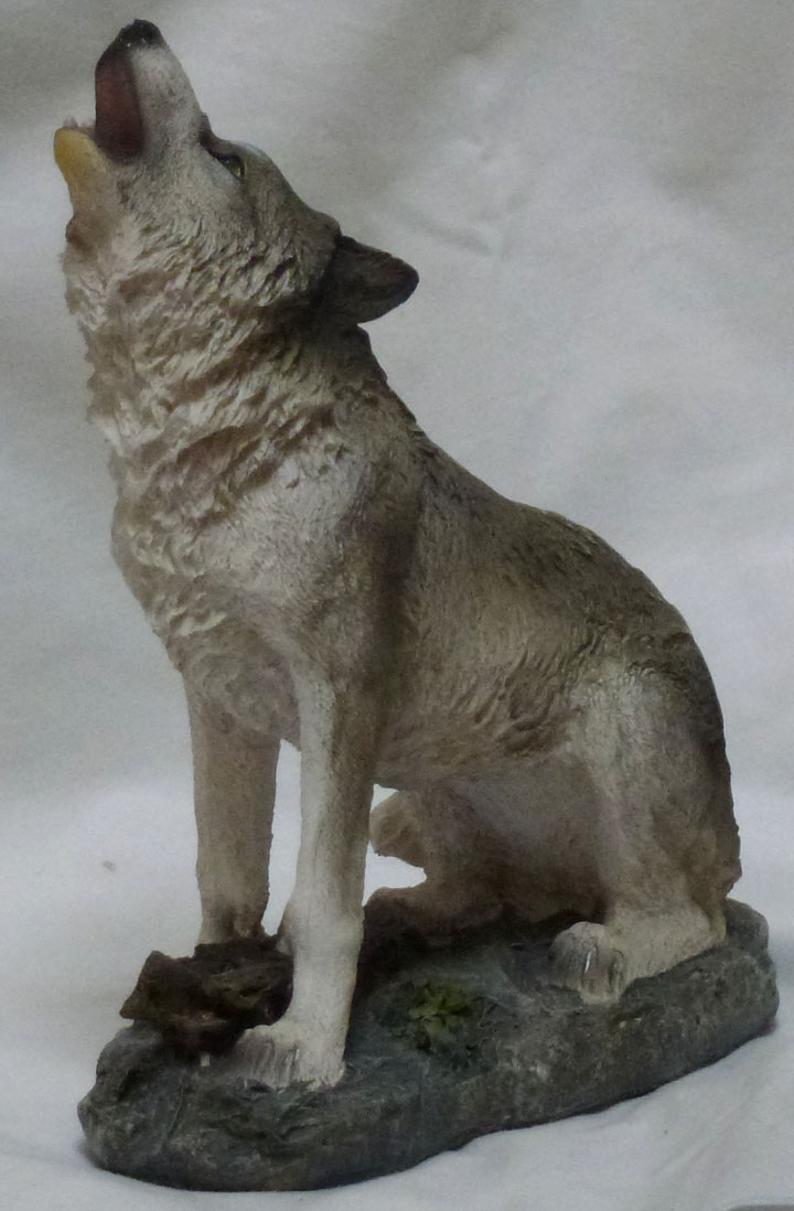 Wolves Statues Bing Images