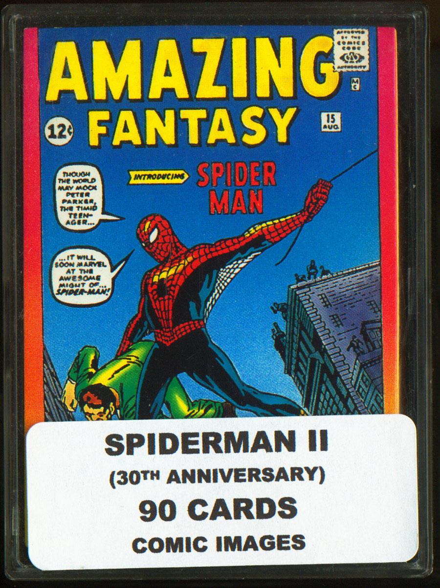 SPIDERMAN SERIES 2 SET OF 90 CARDS